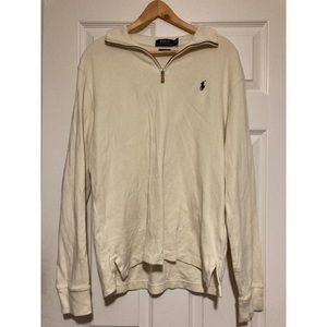 Polo Ralph Lauren Quarter Zip Sweater/Sweatshirt
